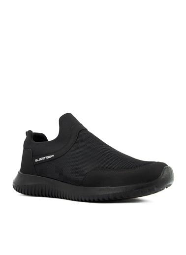 Slazenger Slazenger ELSE I Aqua Erkek Ayakkabı  Siyah